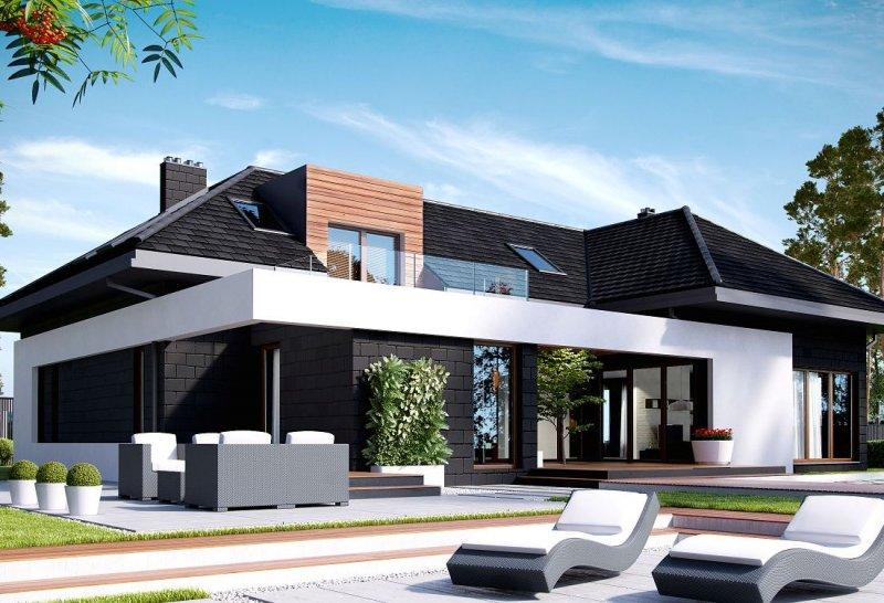Projekt domu z poddaszem homekoncept 13 wycena budowy for Progetti ville minimaliste