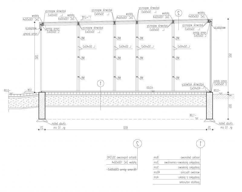 Projekt Domu Energooszczędnego Gb4 Garaż Blaszany Jednostanowiskowy
