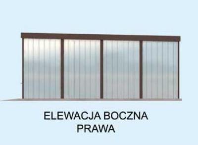 Projekt Domu Energooszczędnego Gb26 Garaż Blaszany Dwustanowiskowy