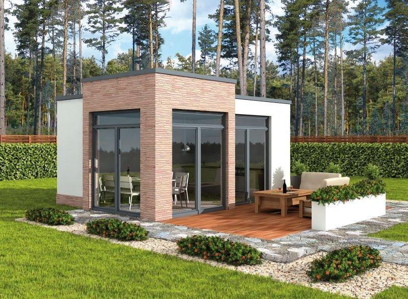 Kl1 Kuchnia Letnia Bud Gospodarczy 19 65 M2 Projekt Domu Nowoczesnego Projekty Domow Kreodom Pl