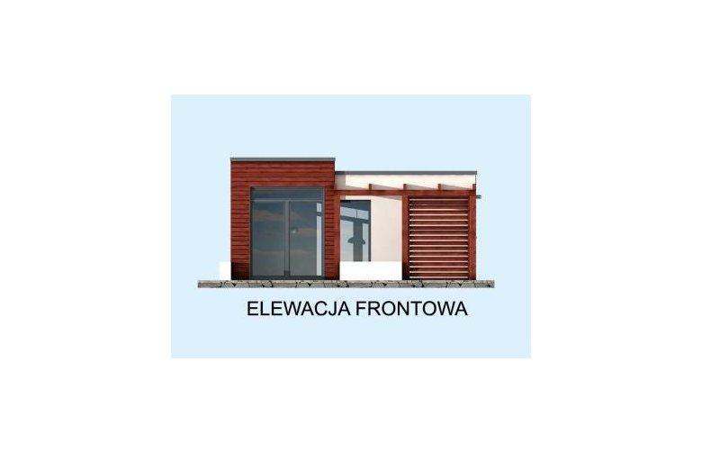 Projekt Domu Nowoczesnego Kl5 Kuchnia Letnia Bud Gospodarczy