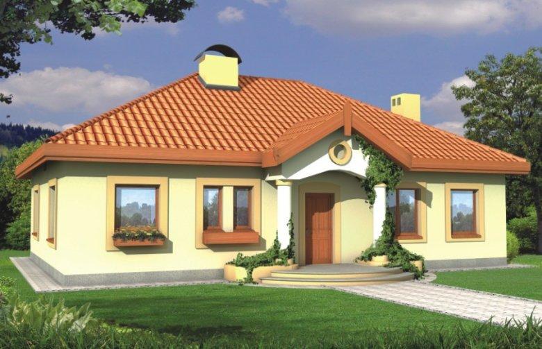 Projekt Domu Jednorodzinnego Sielanka 2 35st Wersja B Bez Garażu Z