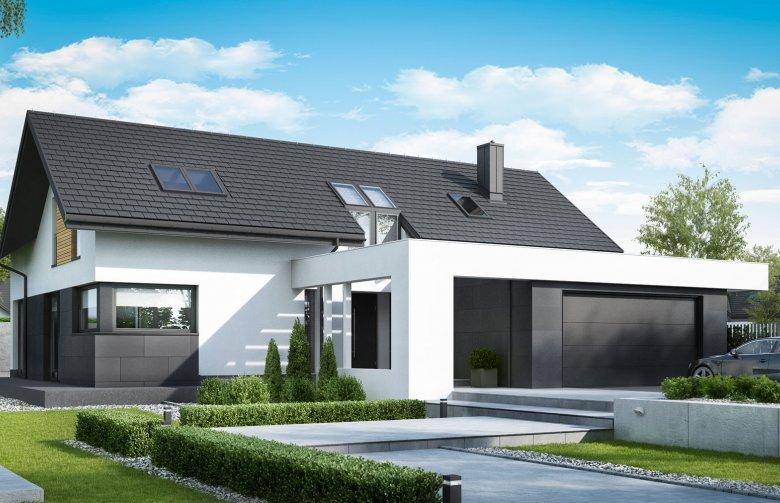 Projekt Domu Z Poddaszem Homekoncept 49 Wycena Budowy Projekty